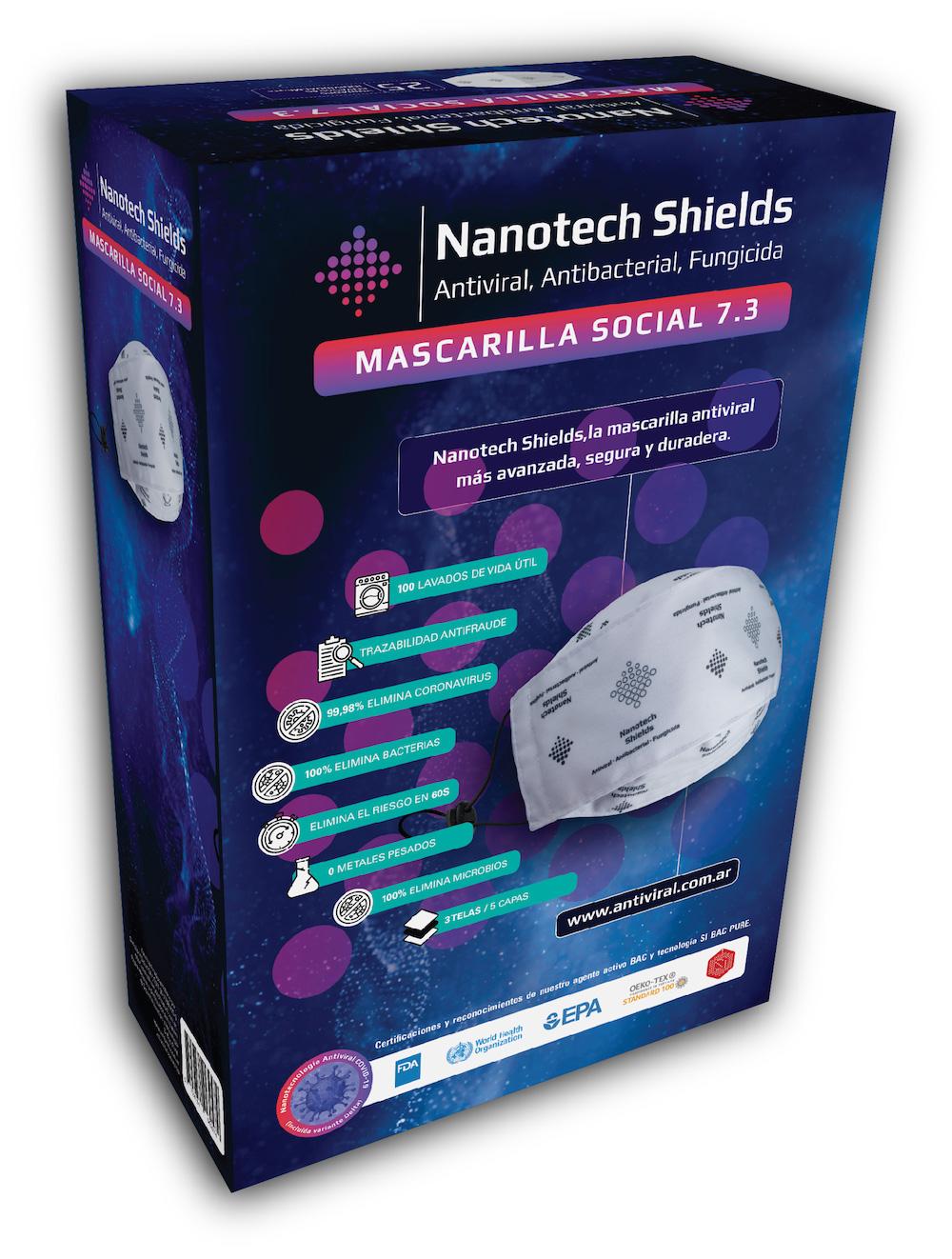 Diseño de Packaging   Nanotech Salud