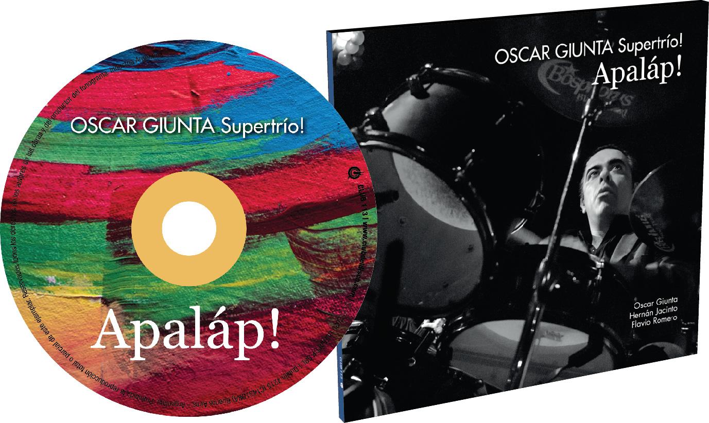 Diseño de Arte y Fotografía para CD   <p>Oscar Giunta / Oscar Giunta Supertrío</p>