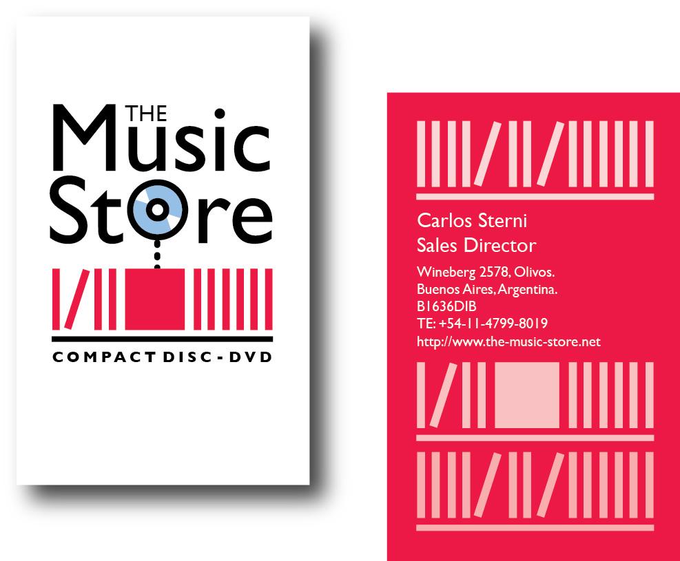 Diseño de Identidad Visual   The Music Store